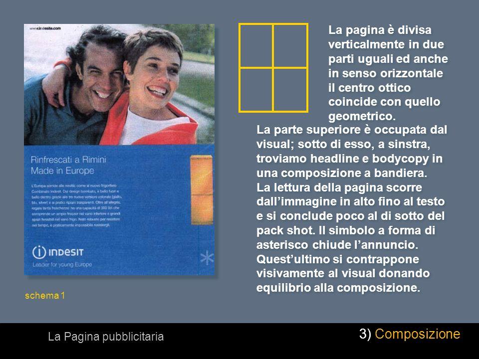 Lillustrazione occupa lintera superficie della pagina e il testo è stampato nellillustrazione stessa, in negativo.