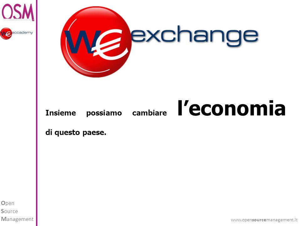 O pen S ource M anagement www.opensourcemanagement.it Insieme possiamo cambiare leconomia di questo paese.