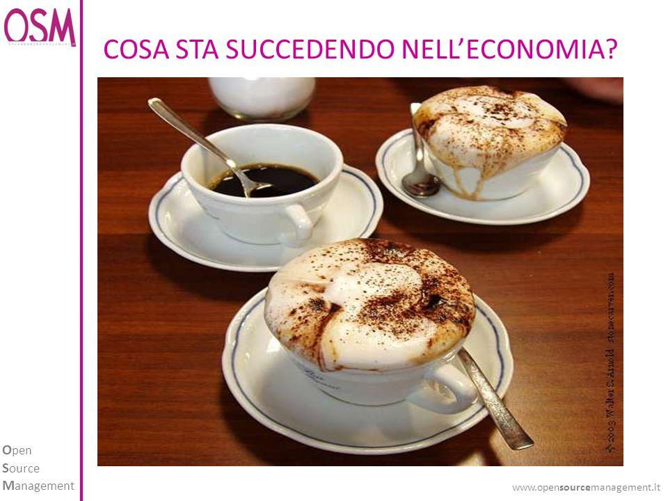 O pen S ource M anagement www.opensourcemanagement.it COSA STA SUCCEDENDO NELLECONOMIA