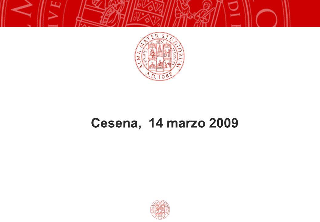 Cesena, 14 marzo 2009