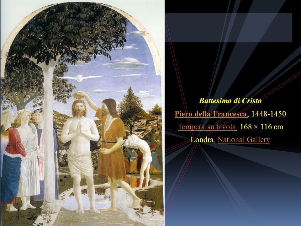 Battesimo di Cristo (Piero della Francesca) Da Wikipedia, l'enciclopedia libera. Vai a: Navigazione, cerca Bat tesi mo di Cri sto Pier o dell a Fra nc