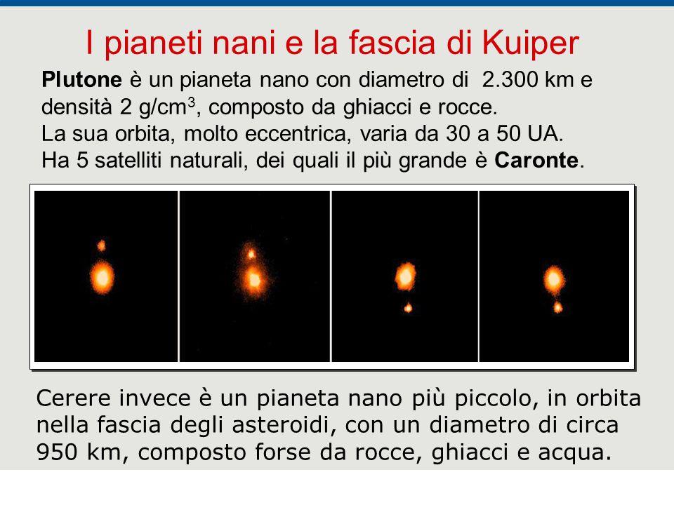 F. Fantini, S. Monesi, S. Piazzini - la Terra età 4,5 miliardi di anni - © Italo Bovolenta editore 2010 37 Plutone è un pianeta nano con diametro di 2