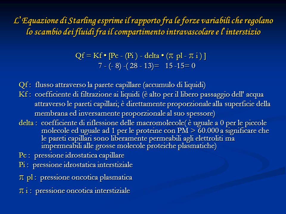 CLASSIFICAZIONE DELLEDEMA POLMONARE IN BASE AI MECCANISMI EZIOPATOGENICI 1.