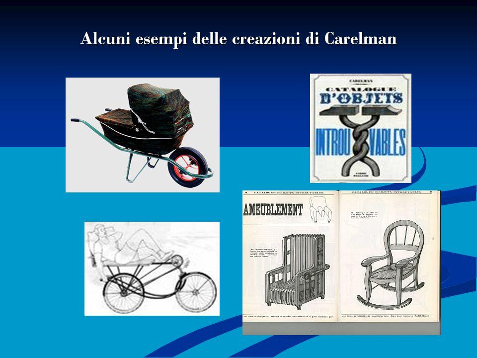 Alcuni esempi delle creazioni di Carelman