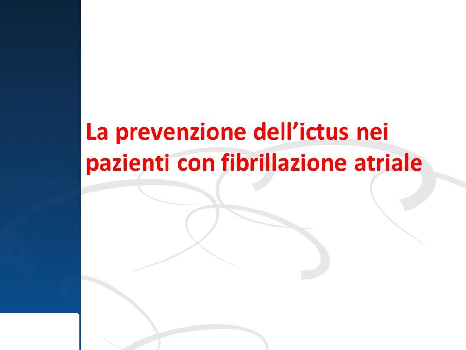 La prevenzione dellictus nei pazienti con fibrillazione atriale