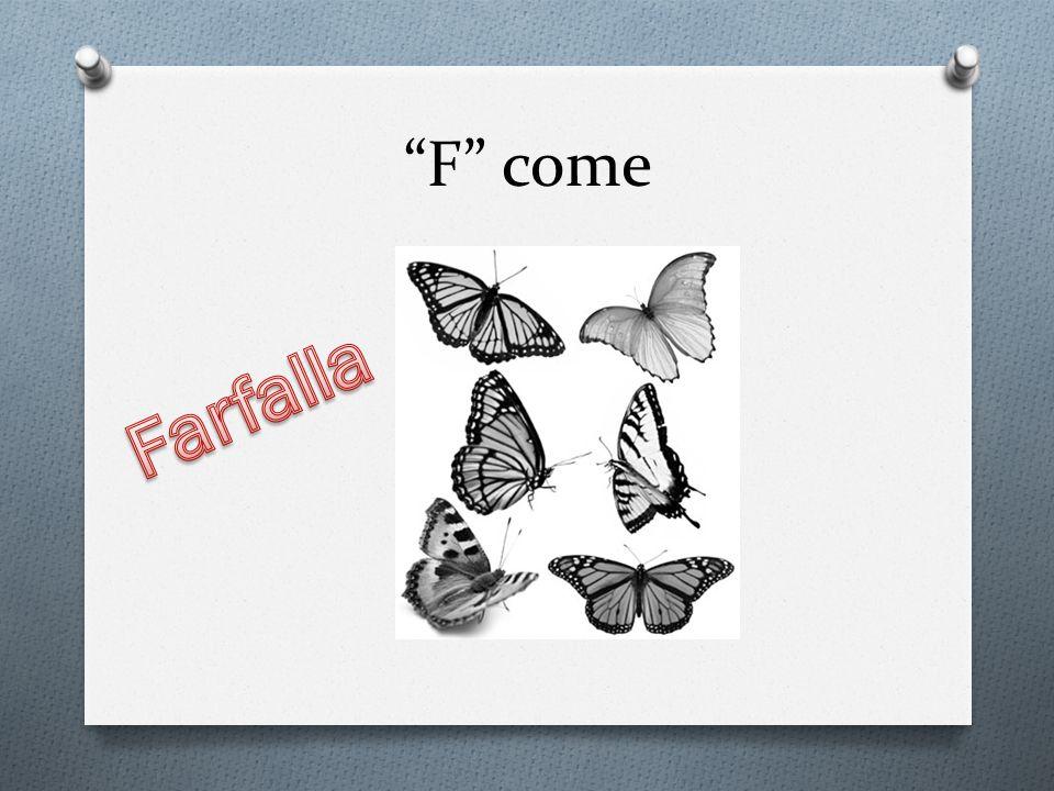 F come