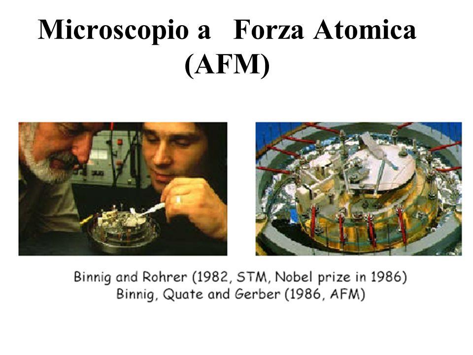 Microscopio a Forza Atomica (AFM)