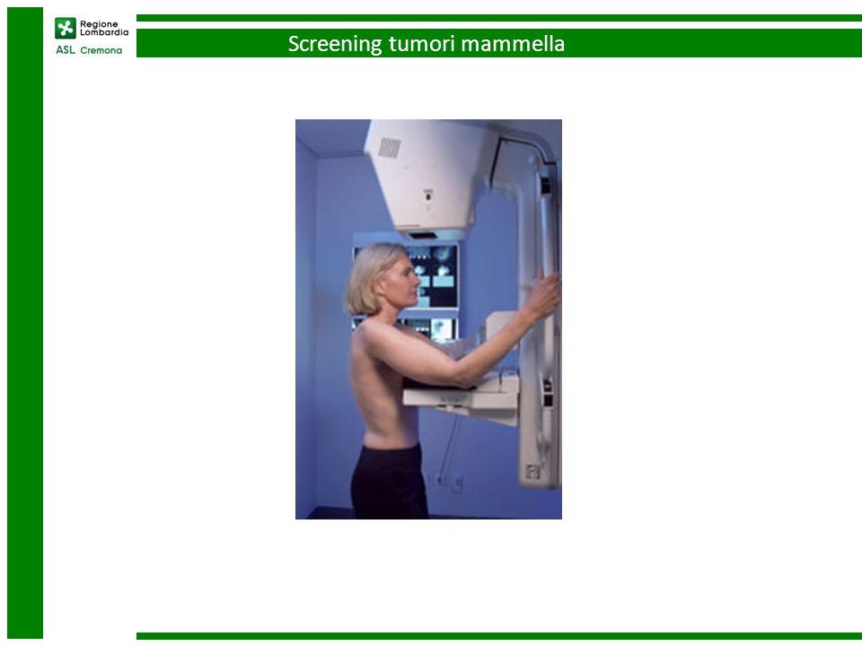 Screening tumori mammella