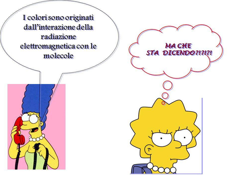 Parliamo un po adesso di quei processi ossidoriduttivi che avvengono quando si colorano abitualmente i capi… I coloranti: vero, Marge?