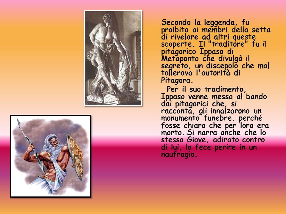 Secondo la leggenda, fu proibito ai membri della setta di rivelare ad altri queste scoperte. Il