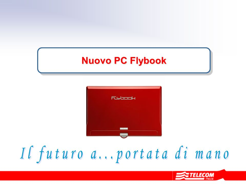 Nuovo PC Flybook