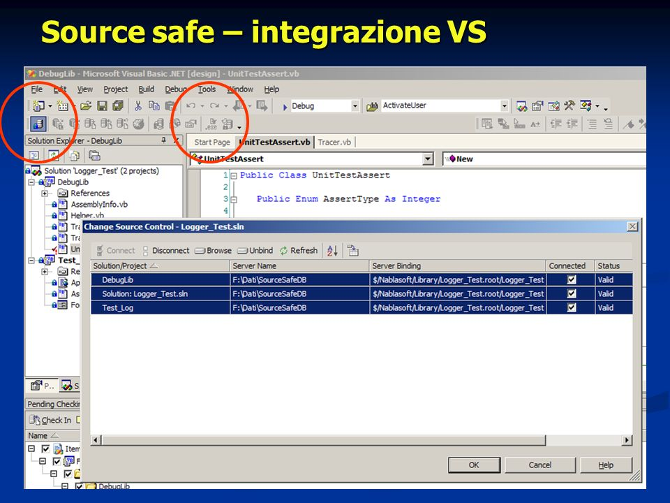 Source safe – Console