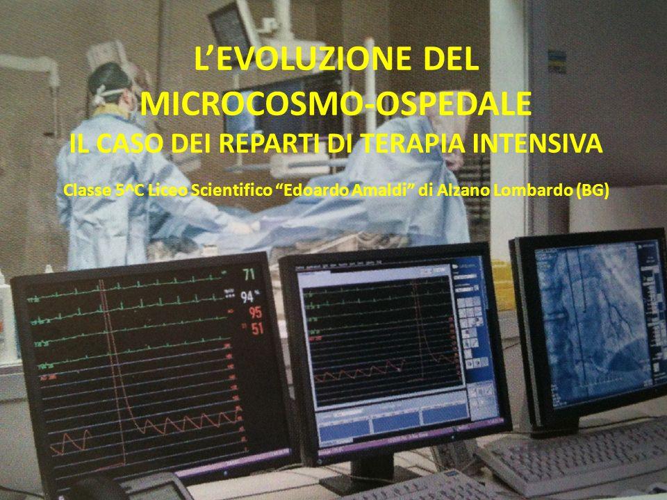 LEVOLUZIONE DEL MICROCOSMO-OSPEDALE IL CASO DEI REPARTI DI TERAPIA INTENSIVA Classe 5^C Liceo Scientifico Edoardo Amaldi di Alzano Lombardo (BG)