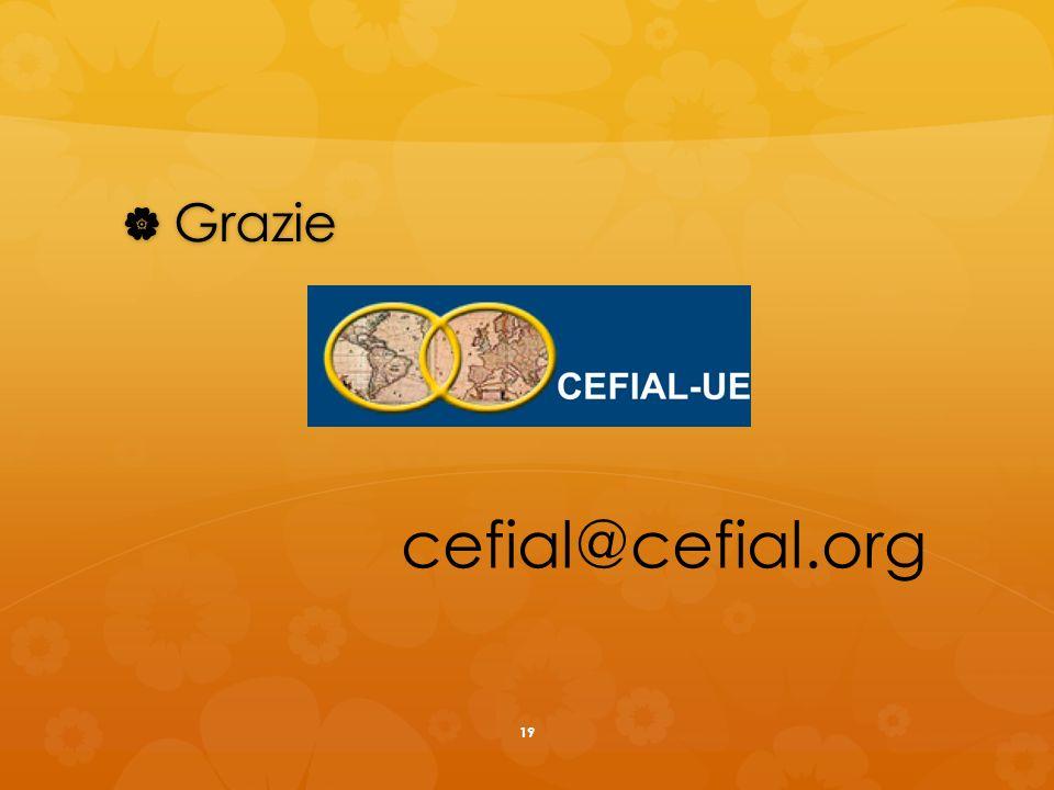 Grazie Grazie cefial@cefial.org 19