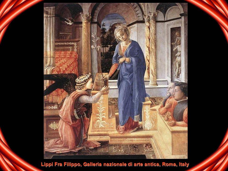 Lippi Fra Filippo, Galleria nazionale di arte antica, Roma, Italy