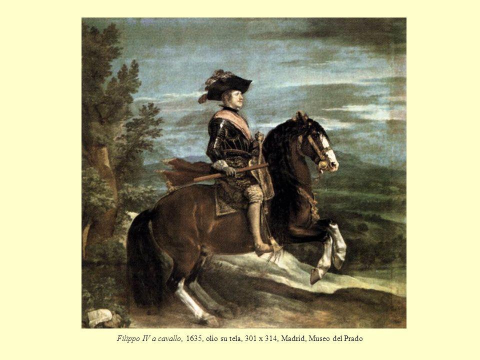 Filippo IV a cavallo, 1635, olio su tela, 301 x 314, Madrid, Museo del Prado