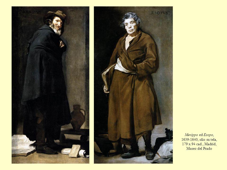 Menippo ed Esopo, 1639-1640, olio su tela, 179 x 94 cad., Madrid, Museo del Prado