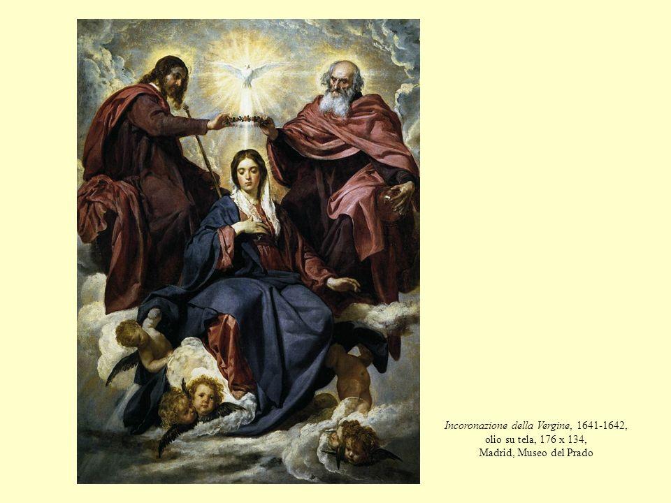 Incoronazione della Vergine, 1641-1642, olio su tela, 176 x 134, Madrid, Museo del Prado