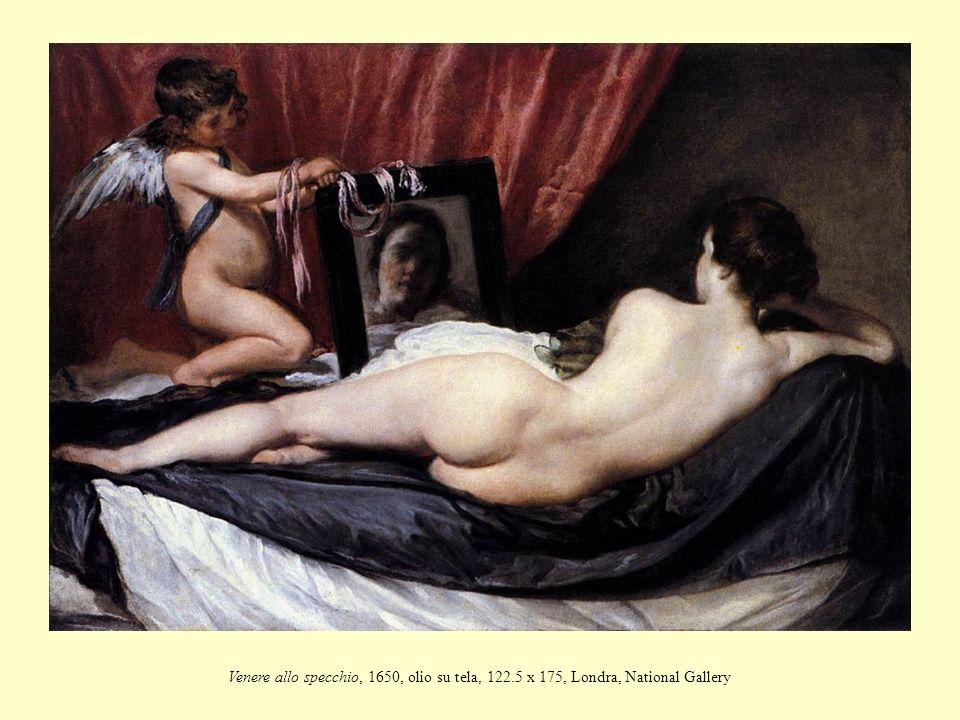 Venere allo specchio, 1650, olio su tela, 122.5 x 175, Londra, National Gallery
