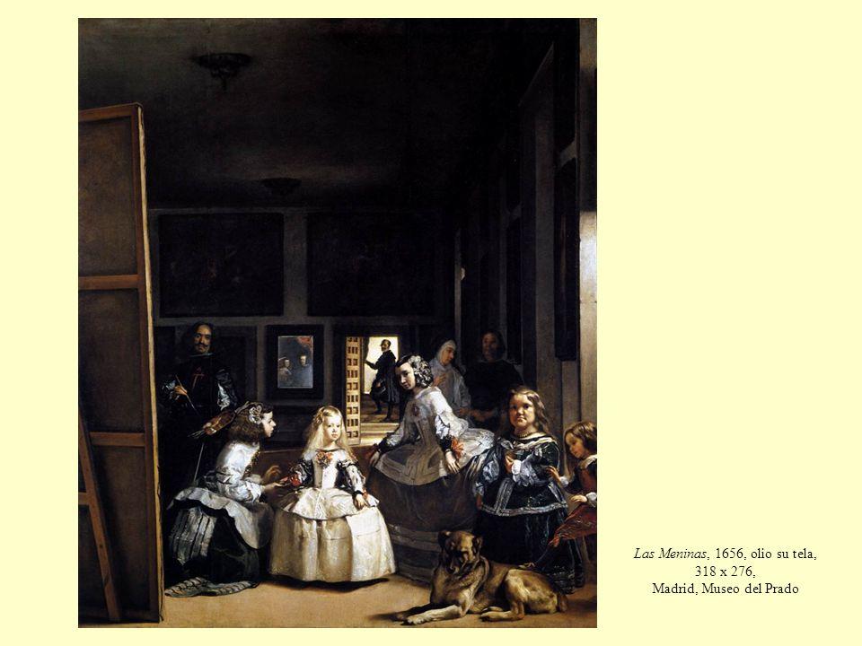 Las Meninas, 1656, olio su tela, 318 x 276, Madrid, Museo del Prado