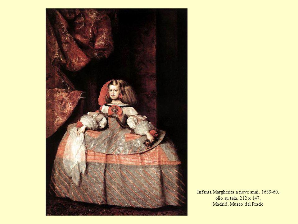 Infanta Margherita a nove anni, 1659-60, olio su tela, 212 x 147, Madrid, Museo del Prado