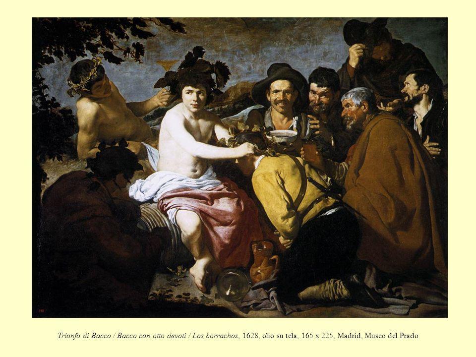 Trionfo di Bacco / Bacco con otto devoti / Los borrachos, 1628, olio su tela, 165 x 225, Madrid, Museo del Prado