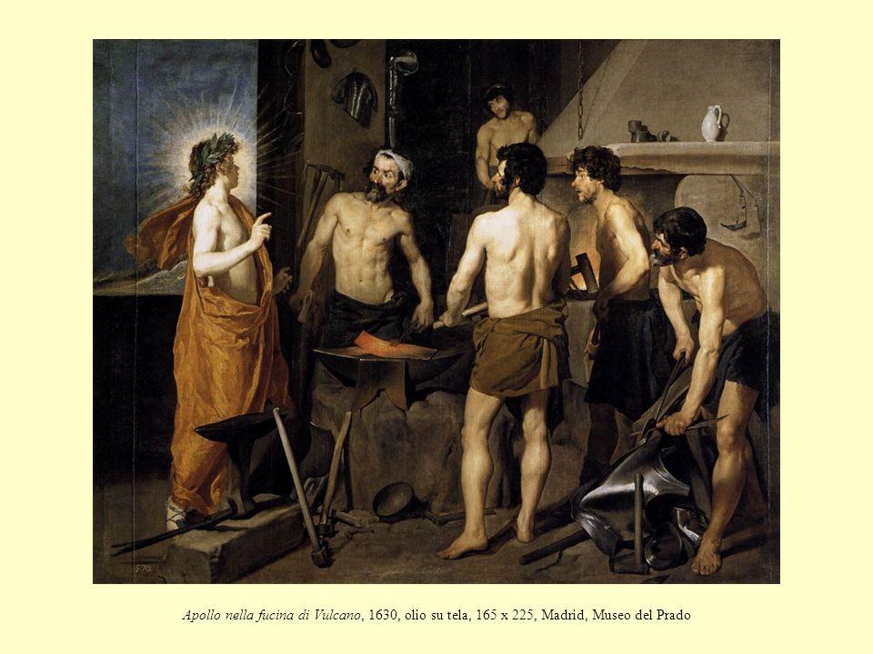 Apollo nella fucina di Vulcano, 1630, olio su tela, 165 x 225, Madrid, Museo del Prado