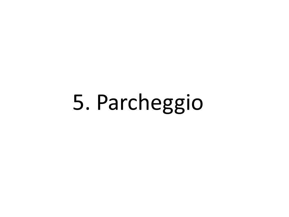 5. Parcheggio