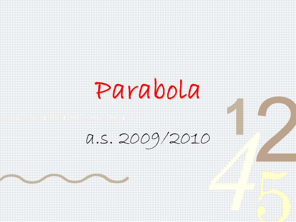 Parabola a.s. 2009/2010