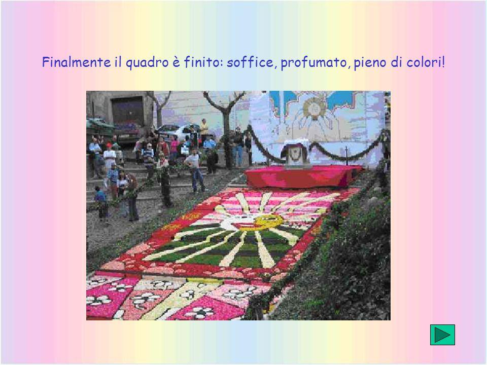 Sul Il Messaggero del 21 giugno, ecco il nostro quadro, primo del lunghissimo tappeto floreale che ricopre Via Italo Belardi