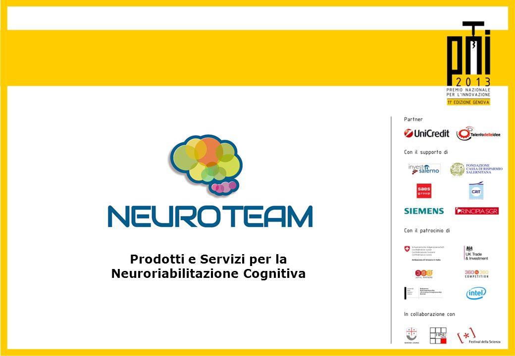 Prodotti e Servizi per la Neuroriabilitazione Cognitiva