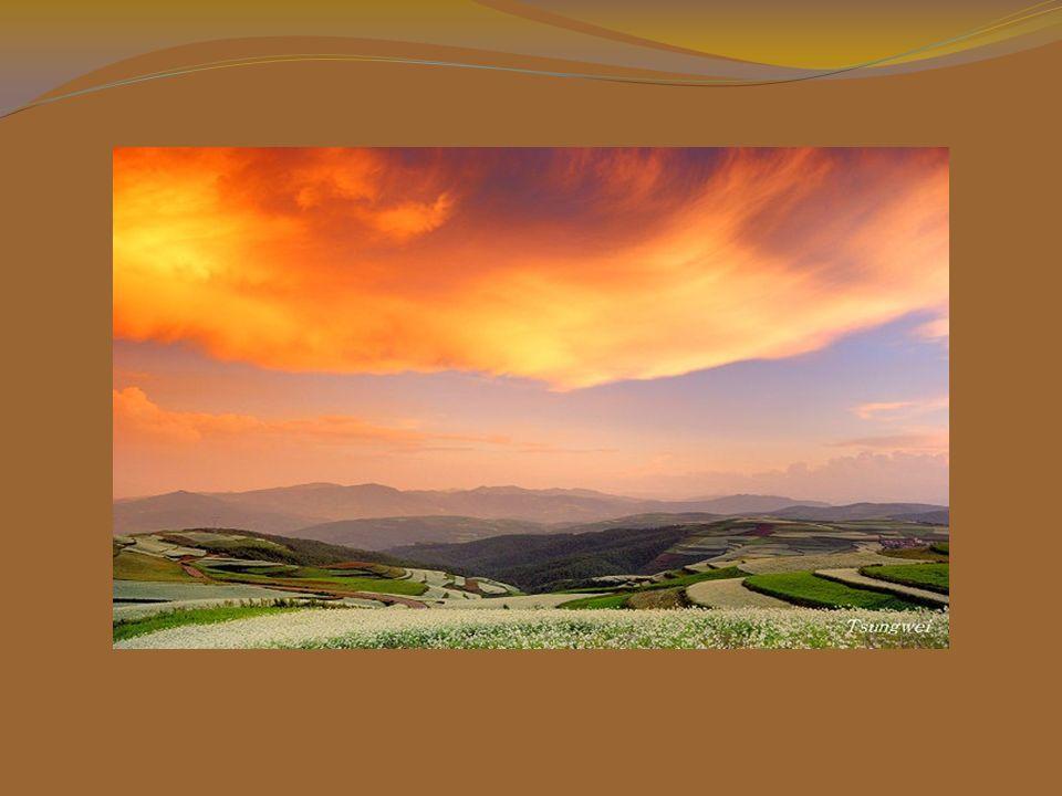 Il colore più affascinante è quello del tramonto.