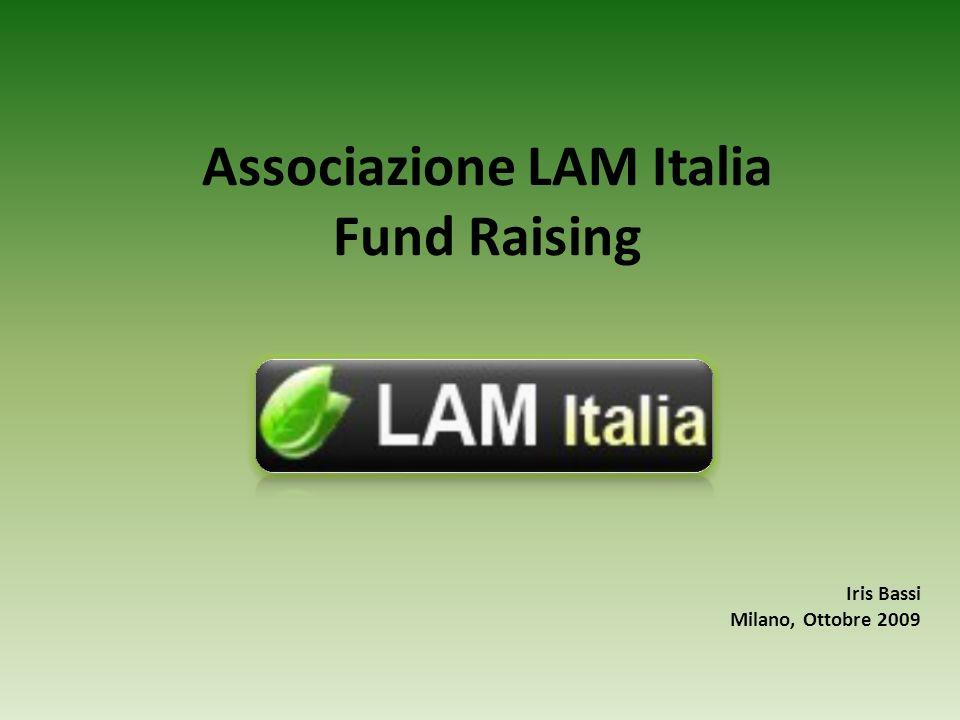 Associazione LAM Italia Fund Raising Iris Bassi Milano, Ottobre 2009