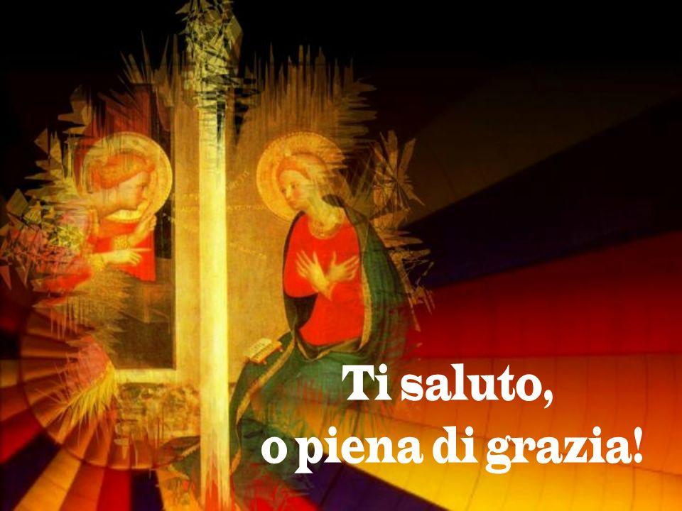 In quel tempo, lAngelo Gabriele fu mandato da Dio in una città della Galilea, chiamata Nazaret, a una vergine, promessa sposa di un uomo nella casa di Davide, chiamato Giuseppe.