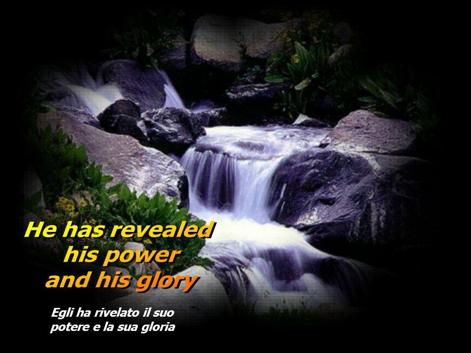 Egli ha misericordia per ogni generazione