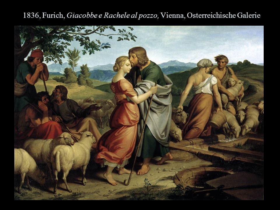 1836, Furich, Giacobbe e Rachele al pozzo, Vienna, Osterreichische Galerie