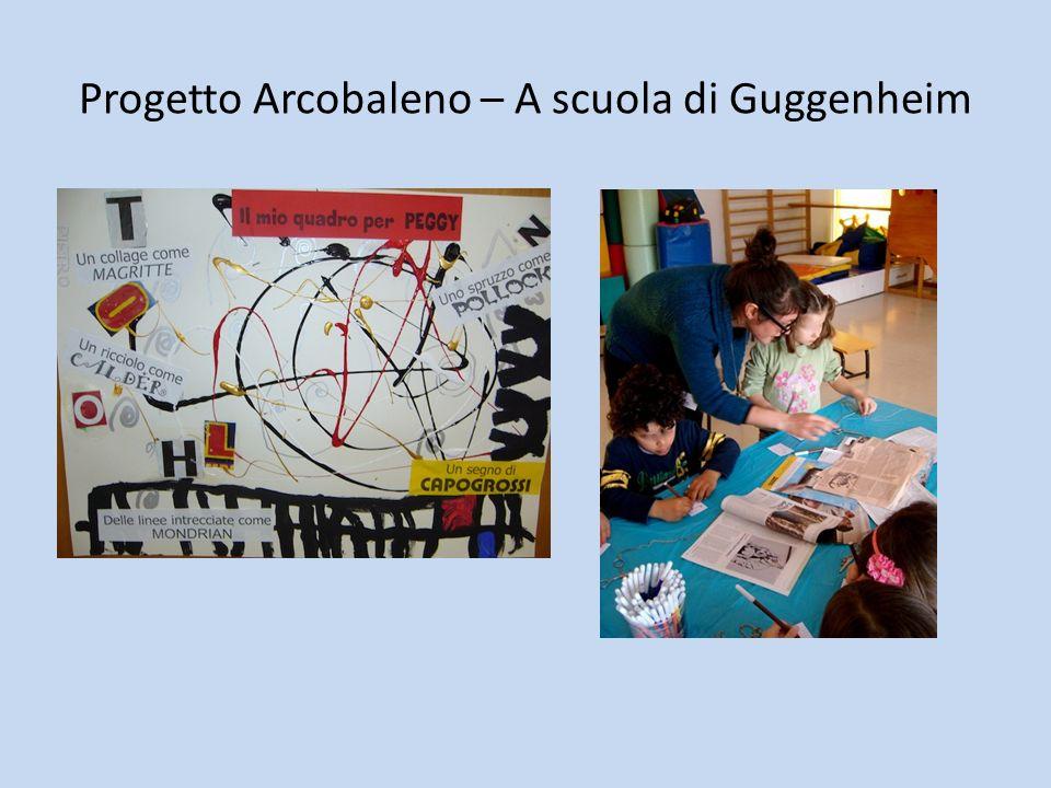 Progetto Arcobaleno – A scuola di Guggenheim