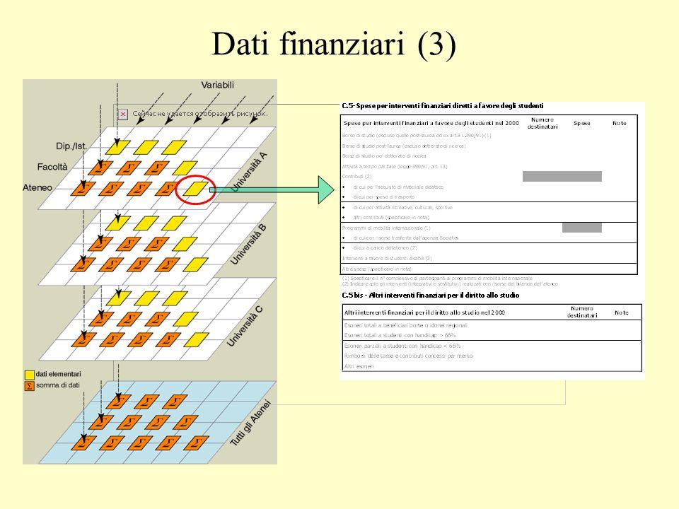 Dati finanziari (3)