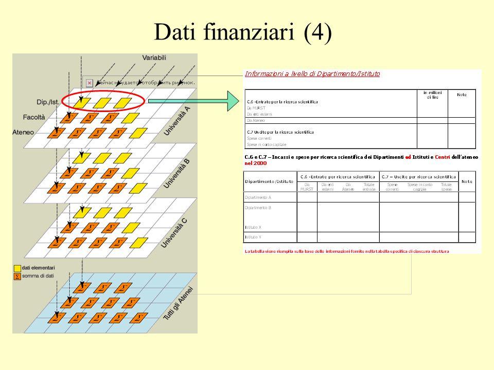 Dati finanziari (4)