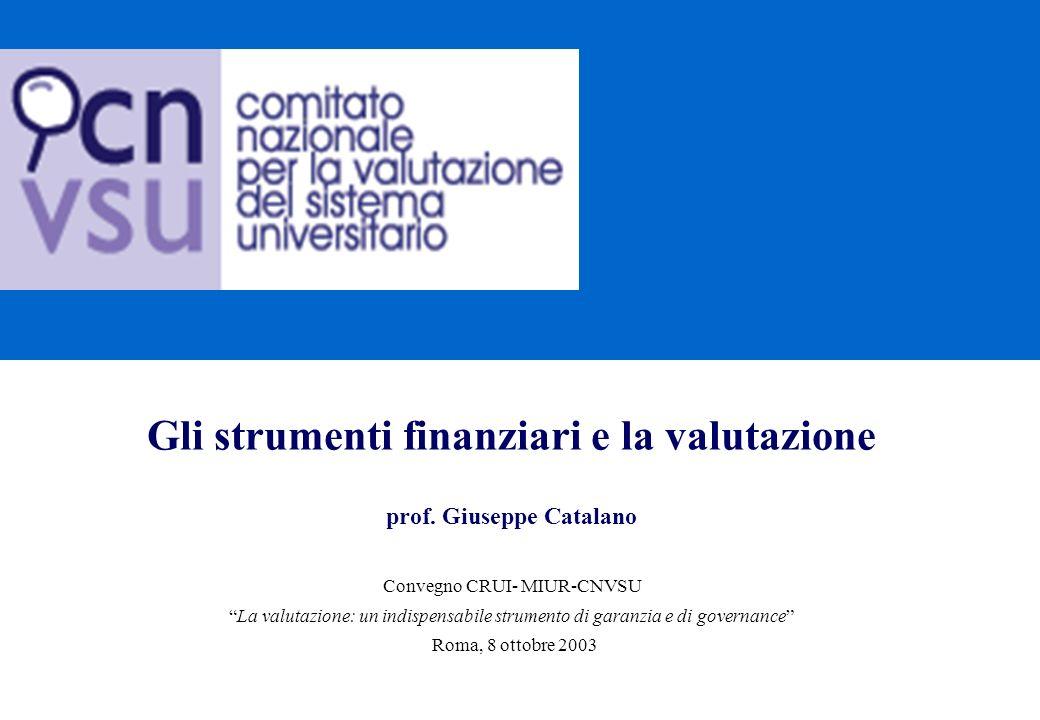 2 Agenda 1.Lattuale sistema di finanziamento: riequilibrio e incentivazione 2.