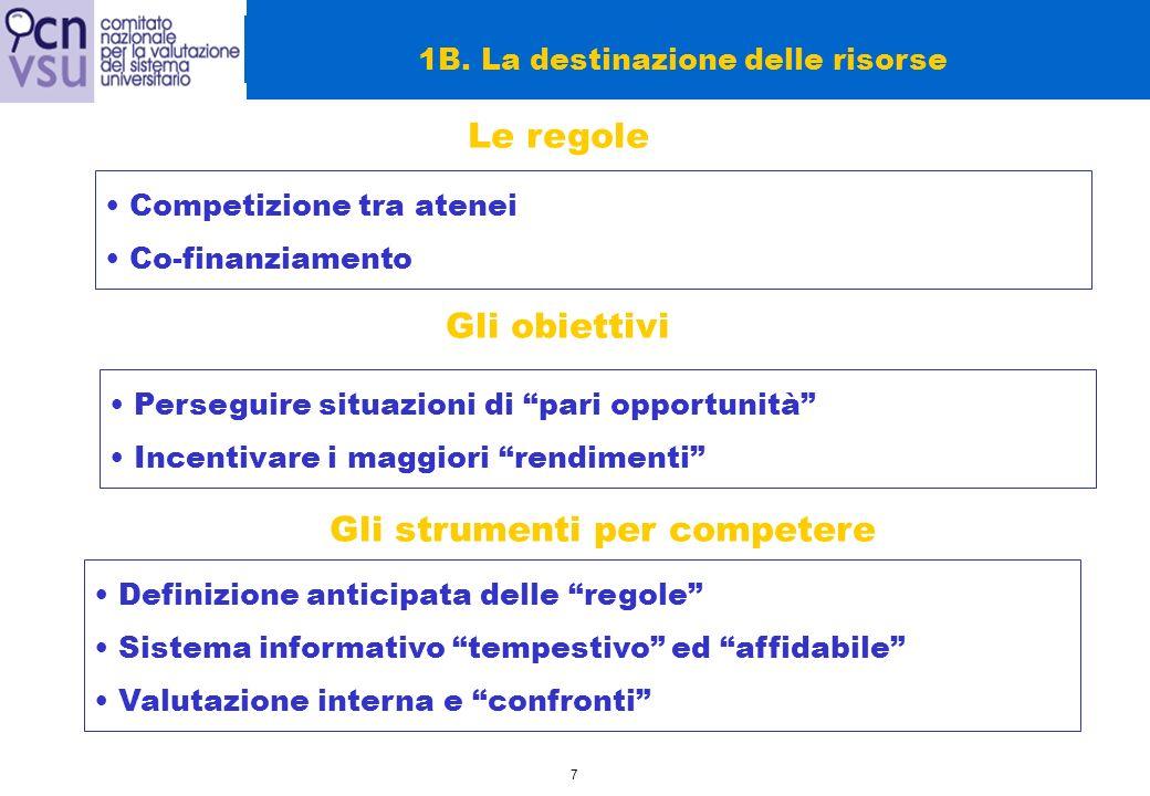 18 2.Le prospettive per il futuro: prime riflessioni 2A.