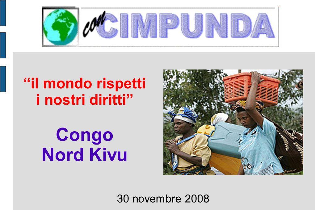 È in campo anche lONU, con una presenza massiccia di militari (17.000, di cui 8.000 nel Kivu), che non riesce a garantire losservanza degli accordi, che non difende la gente dai soprusi, che sfrutta la situazione per sfruttare il sottosuolo GLI ATTORI DELLA CRISI