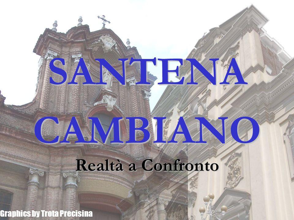 SANTENA CAMBIANO Realtà a Confronto Graphics by Trota Precisina