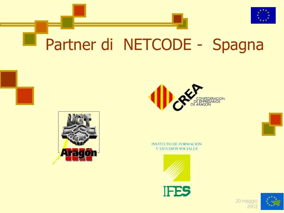 20 maggio 2002 Partner di NETCODE - Spagna