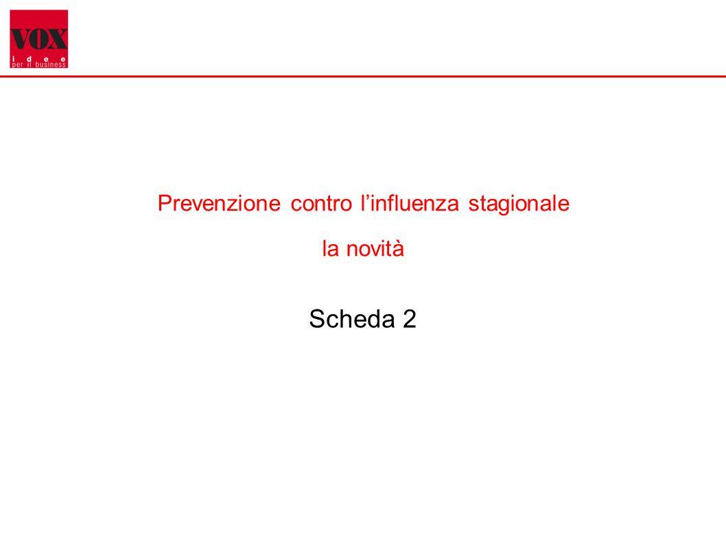4 Prevenzione contro linfluenza stagionale la novità Scheda 2
