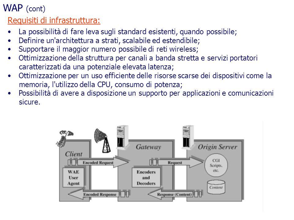 La possibilità di fare leva sugli standard esistenti, quando possibile; Definire un'architettura a strati, scalabile ed estendibile; Supportare il mag