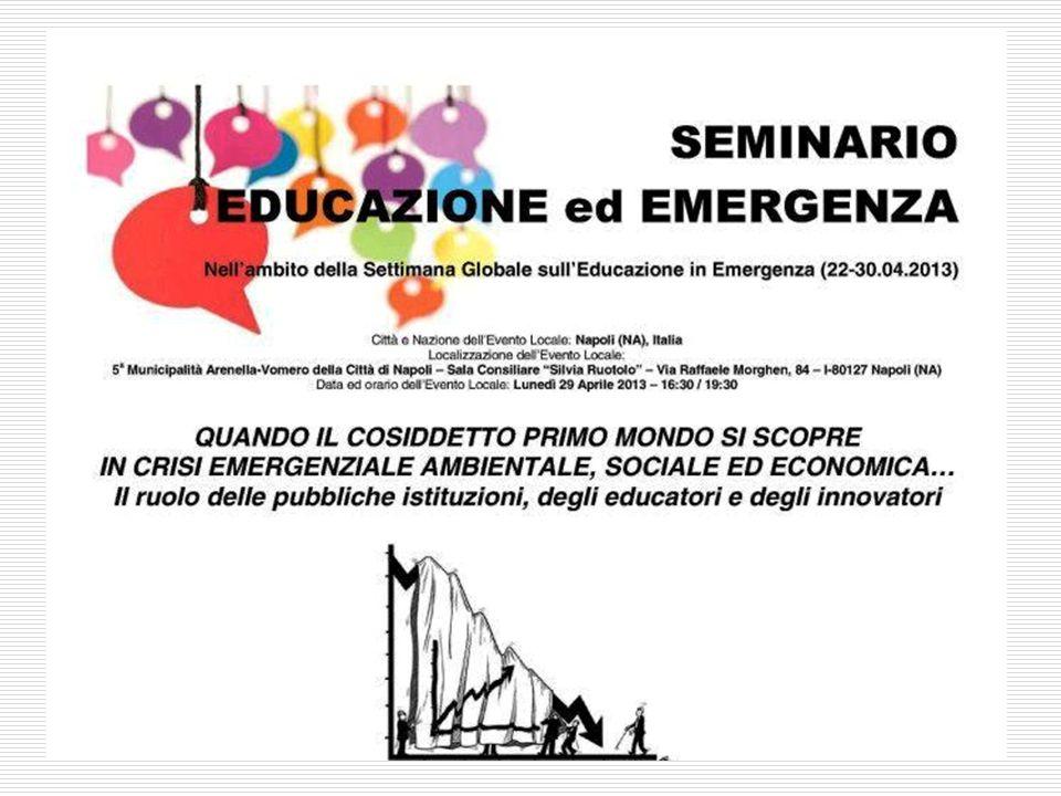 12 Emergenze educative e conflict sensitive education 5.