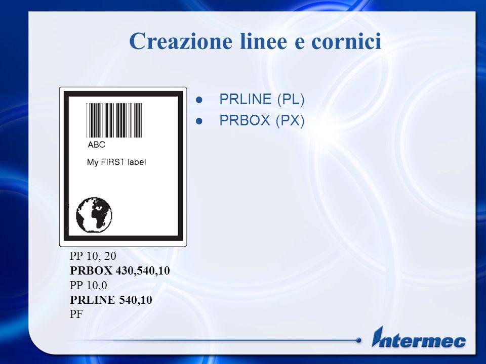 Restituisce informazioni sulla versione della stampante Print version$(1) Definisce come vengono visualizzate le intersezioni tra campi Xormode ON