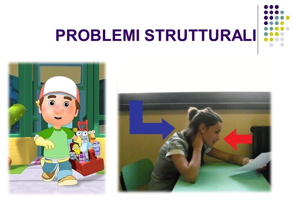 PROBLEMI STRUTTURALI