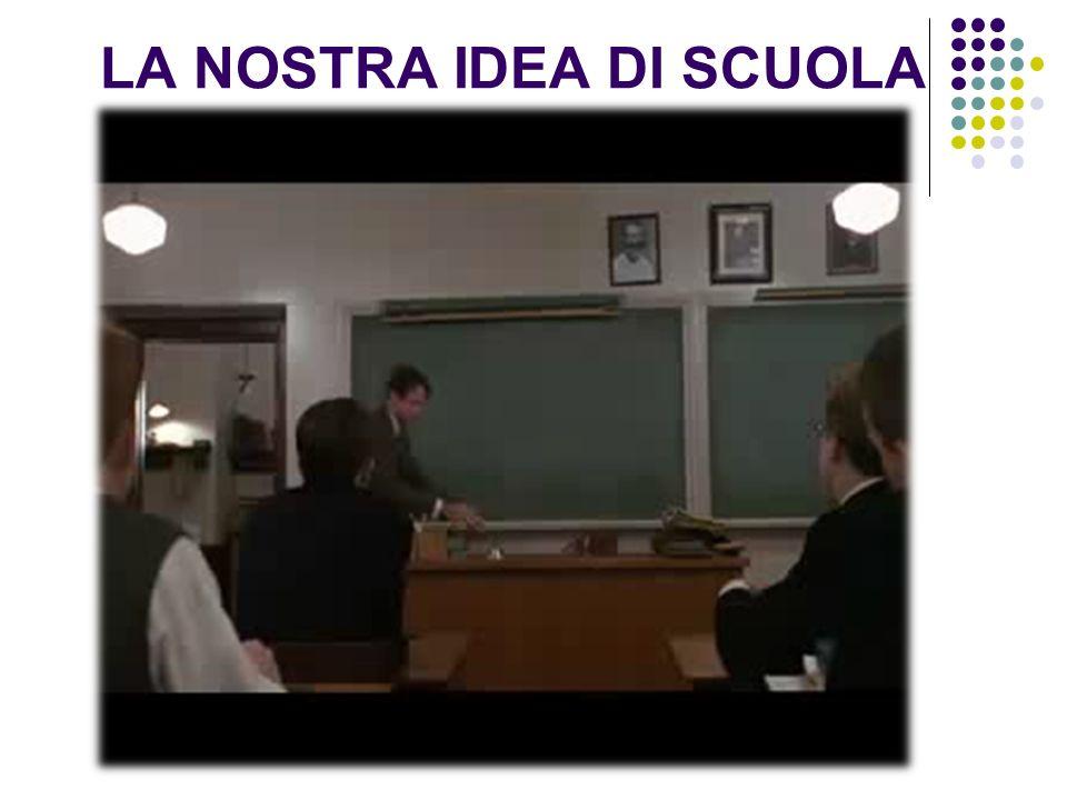 LA NOSTRA IDEA DI SCUOLA